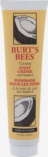 BURT'S BEES Fußpflege 'Coconut Foot Cream' in gelb, Produktansicht