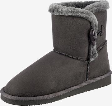 JANE KLAIN Boots in Grau