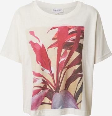 Bizance Paris T-Shirt 'Cherie' in Weiß