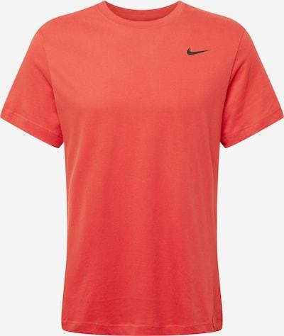 NIKE Sportshirt in orangerot / schwarz, Produktansicht