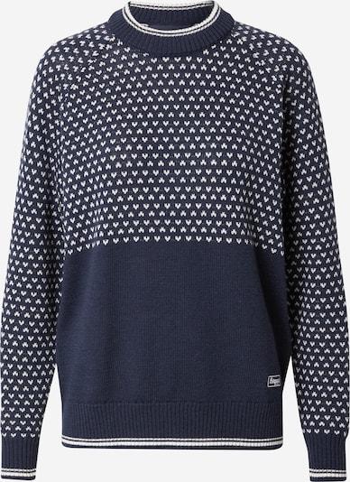 Pullover sportivo Bergans di colore navy / bianco, Visualizzazione prodotti