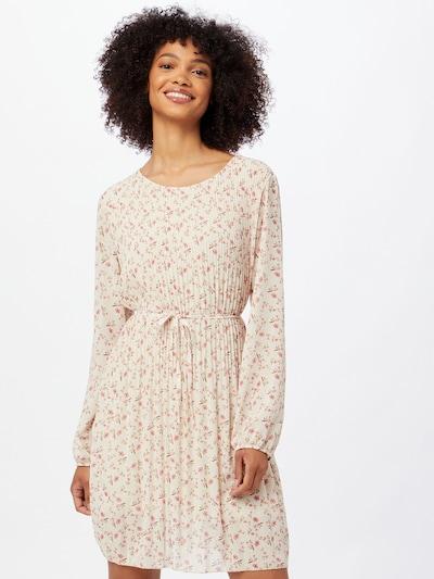 ZABAIONE Kleid 'Felia' in beige / creme / pink, Modelansicht