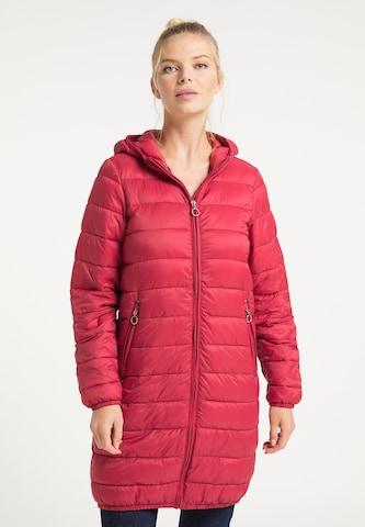 DreiMaster Maritim Winter Coat in Red