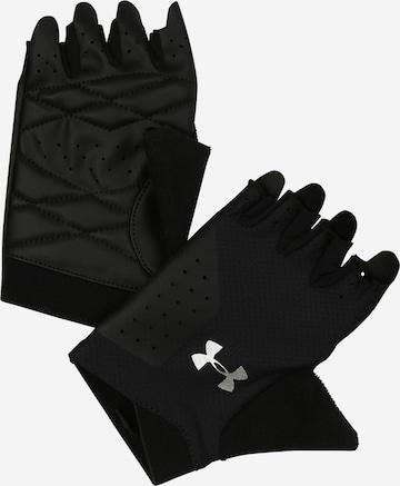 UNDER ARMOUR Sports gloves in Black