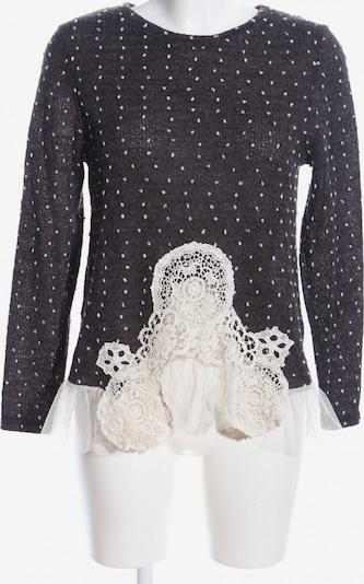 Molly BRACKEN Rundhalspullover in XS-XL in schwarz / weiß, Produktansicht