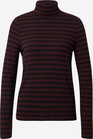 STREET ONE Shirt in pflaume / schwarz, Produktansicht