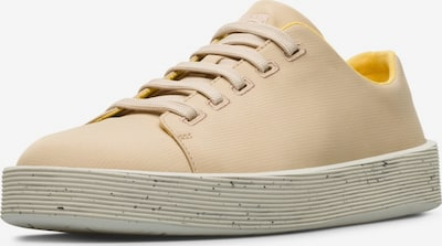 CAMPER Chaussure de sport à lacets 'Courb' en beige clair, Vue avec produit