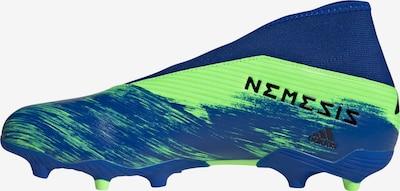 ADIDAS PERFORMANCE Fußballschuh in royalblau / hellgrün, Produktansicht