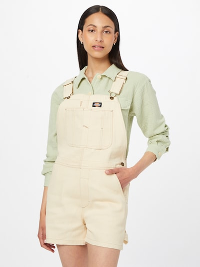 DICKIES Dungaree jeans in Beige, View model
