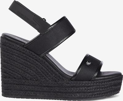 Calvin Klein Jeans Espadrilles-Wedges ' in schwarz, Produktansicht