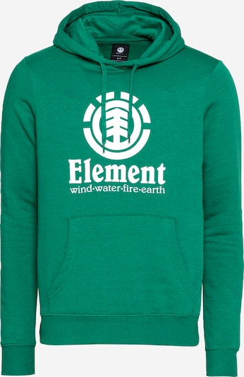 ELEMENT Sweatshirt in de kleur Groen / Wit, Productweergave