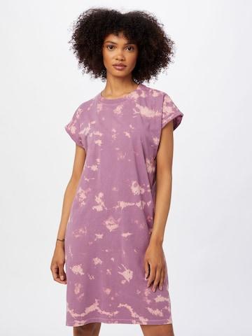 Urban Classics Šaty - fialová