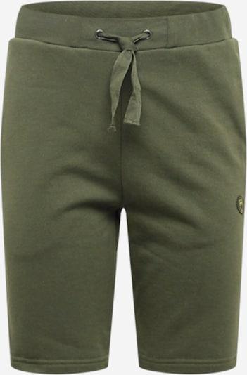 KnowledgeCotton Apparel Shorts 'TEAK' in dunkelgrün, Produktansicht