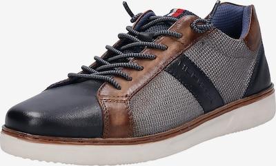 DANIEL HECHTER Sneaker 'Leroy' in dunkelblau / brokat / stone, Produktansicht