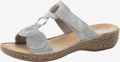 RIEKER Pantofle - stříbrná, Produkt
