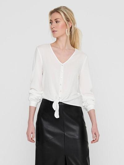 ONLY Blus 'NINA' i vit, På modell