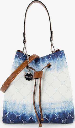 TAMARIS Schoudertas 'Anastasia' in de kleur Lichtblauw / Donkerblauw / Wit, Productweergave