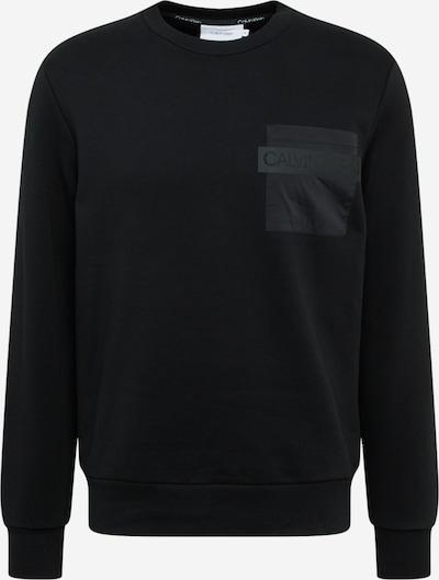 Calvin Klein Sweatshirt in schwarz, Produktansicht