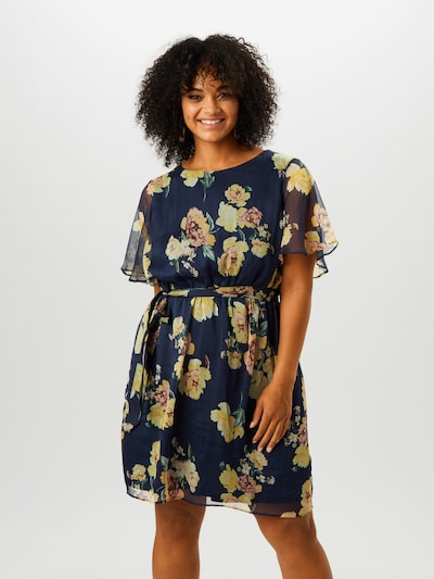 ABOUT YOU Curvy Kleid 'Hale' in navy / mischfarben, Modelansicht