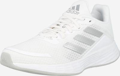 ADIDAS PERFORMANCE Laufschuh 'Duramo' in silber / weiß, Produktansicht