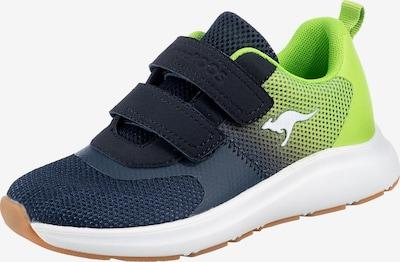 KangaROOS Sneaker 'KB-Agil V' in navy / limette / weiß, Produktansicht