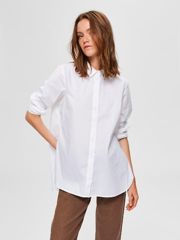 SELECTED FEMME Bluse 'Fori' in Weiß