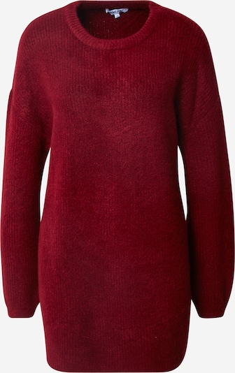 ABOUT YOU Pull-over oversize 'Mina' en rouge / bordeaux, Vue avec produit