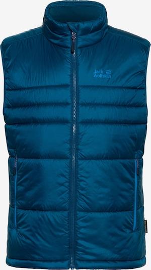 JACK WOLFSKIN Steppweste 'ARGON' in blau, Produktansicht