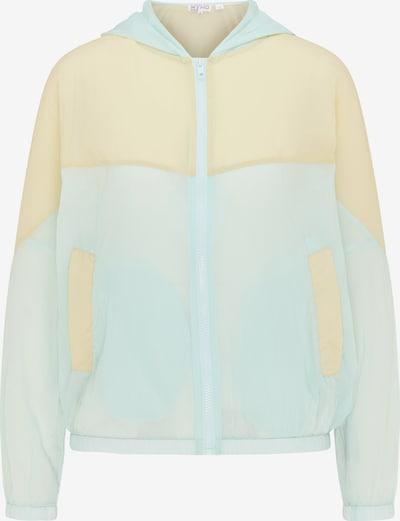 myMo ATHLSR Veste de sport en bleu pastel / jaune pastel, Vue avec produit
