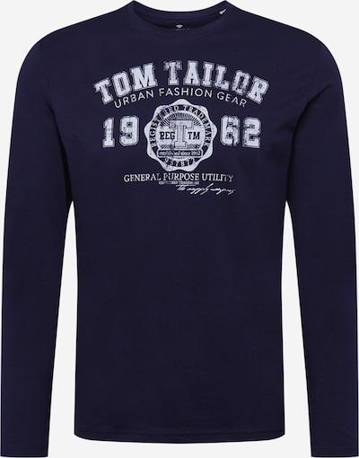 TOM TAILOR Shirt in de kleur Navy / Wit, Productweergave