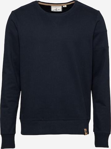 Fli Papigu Sweatshirt 'Huffin' & Puffin' in Blau