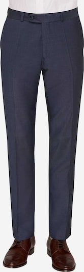 CARL GROSS Bandplooibroek in de kleur Nachtblauw, Productweergave