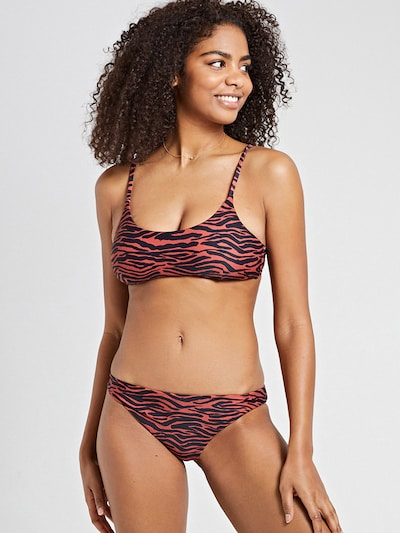 Shiwi Bikini 'Havana' in Auburn / Black, View model