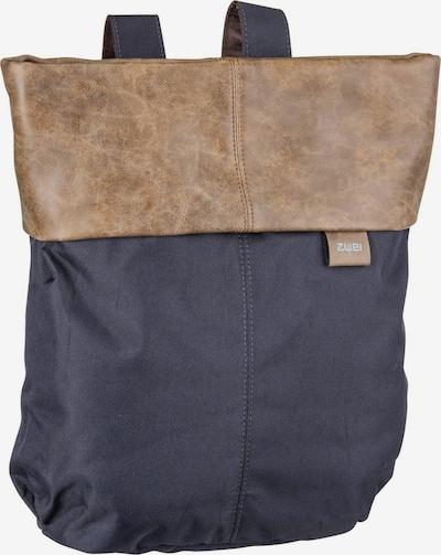 ZWEI Sac à dos ' Olli OR12 ' en bleu foncé, Vue avec produit