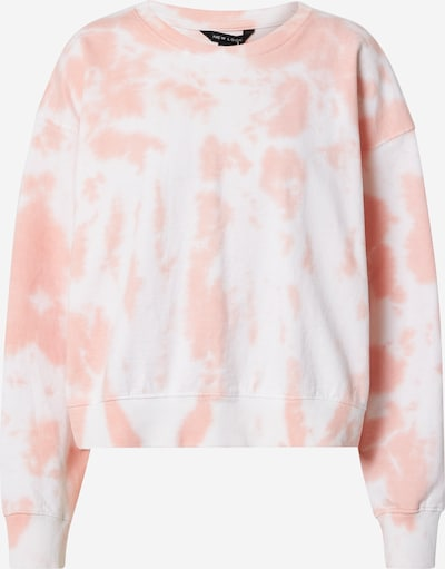 NEW LOOK Sweatshirt in de kleur Pink / Wit, Productweergave