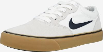 Nike SB Baskets basses 'Chron 2' en bleu foncé / gris clair / blanc, Vue avec produit