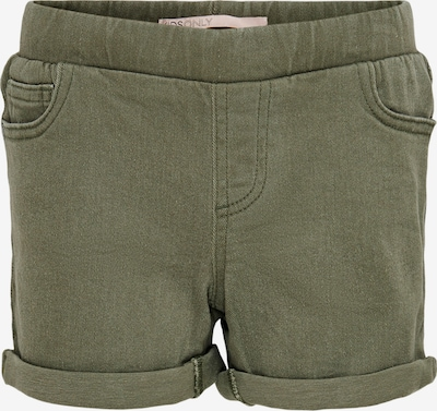 KIDS ONLY Shorts 'Wonder Life' in oliv, Produktansicht