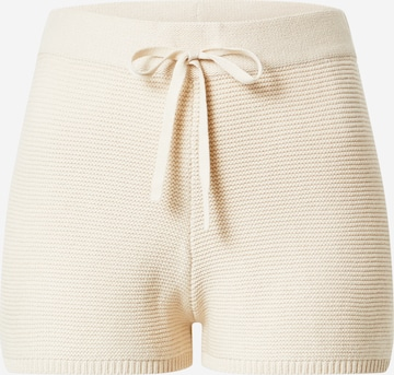 ABOUT YOU Shorts 'Chiara' in Beige
