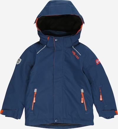 TROLLKIDS Jacke 'Holmenkollen' in dunkelblau / orange, Produktansicht