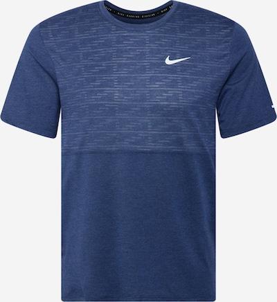 NIKE Functioneel shirt 'Division Miler' in de kleur Donkerblauw, Productweergave