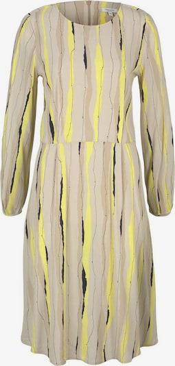 MINE TO FIVE Robe en beige / jaune / noir, Vue avec produit