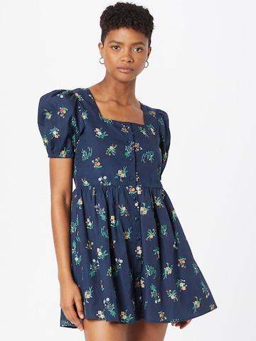 GLAMOROUS Summer Dress in Blue