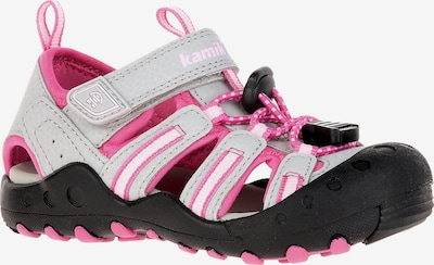 Kamik Sandalen 'CRAB' in grau / pink / schwarz / weiß, Produktansicht