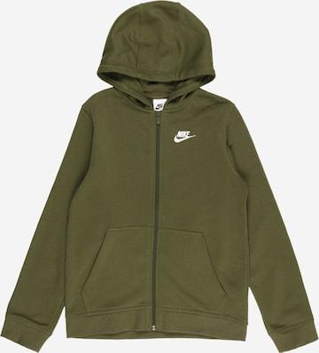 Nike Sportswear Dressipluus, värv roheline