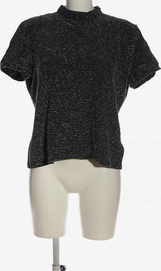 Canada Kurzarm-Bluse in XL in schwarz / silber, Produktansicht