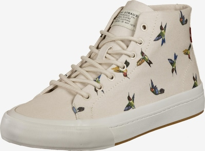 LEVI'S High-Top Sneakers 'Summit Mid' in Cream / Mixed colors, Item view