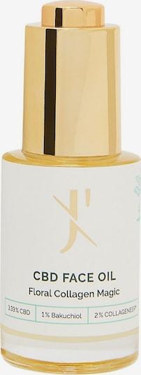 J'Tanicals Facial Oil Floral Magic Gesichtsöl mit 3,3% CBD in gelb, Produktansicht