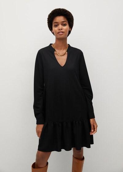 MANGO Kleid in schwarz, Modelansicht