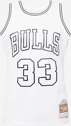 Mitchell & Ness T-Shirt en noir / blanc, Vue avec produit
