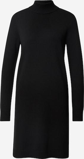 BOSS Robes en maille en noir, Vue avec produit